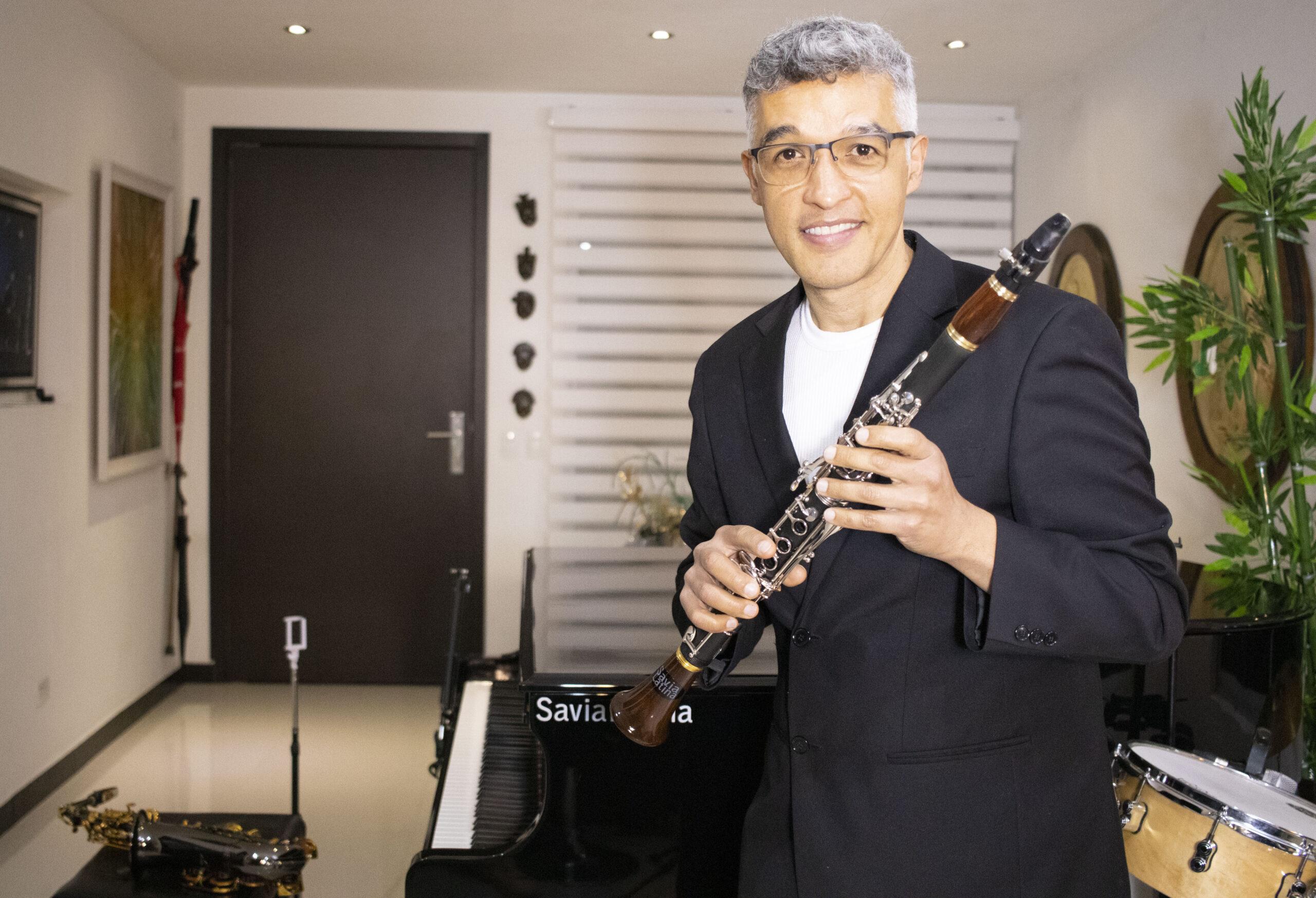 Clarinetista en Colombia