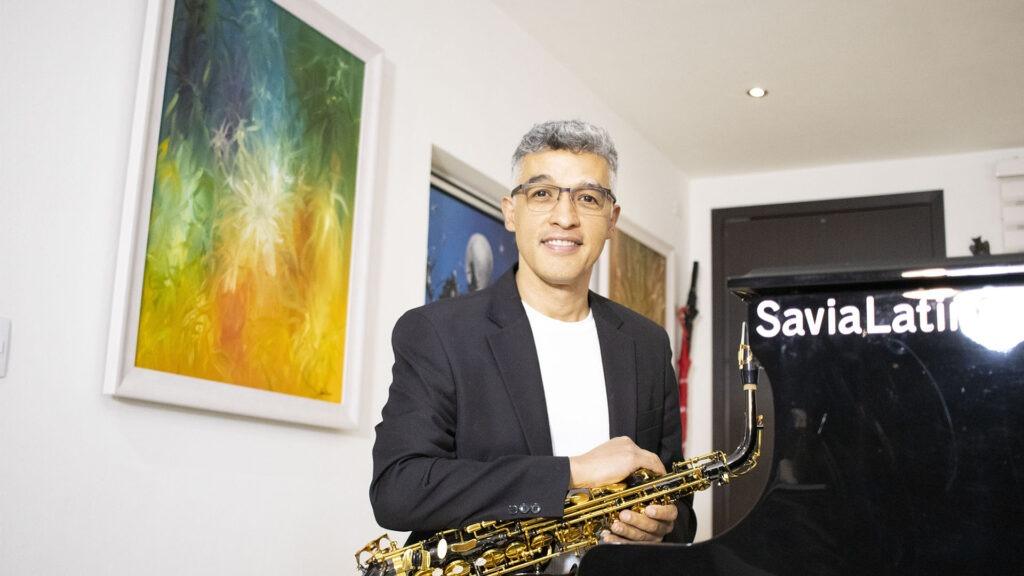 Saxofonista en Colombia - Chucho Sierra - Músicos Colombia